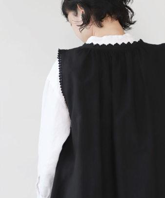 京都紋付黒染め / ビンテージコットンリメイクワンピース_7